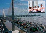 Se están robando a pedazos el nuevo Puente Pumarejo