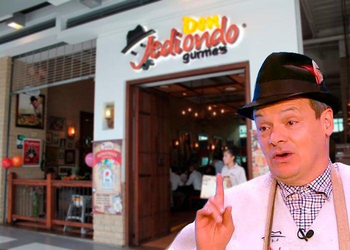Don Jediondo no logró sacar adelante sus restaurantes