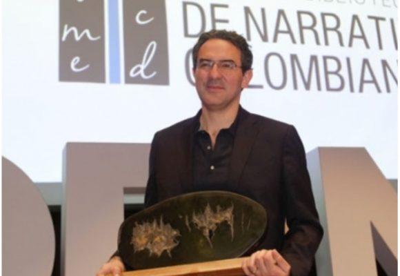 Juan Gabriel Vásquez se quedó con el Premio Biblioteca Narrativa Colombiana