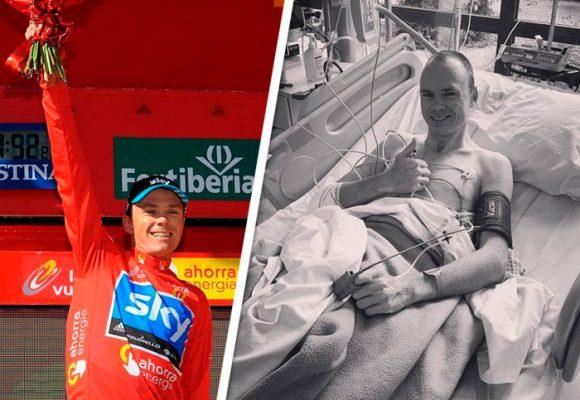 Chris Froome ya no puede correr en bicicleta