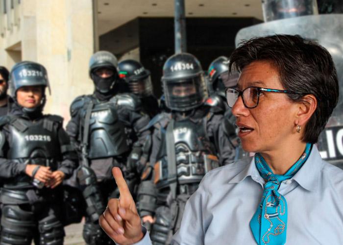 Protestas 21E: ¿logrará la alcaldesa evitar con su protocolo los desbordes?