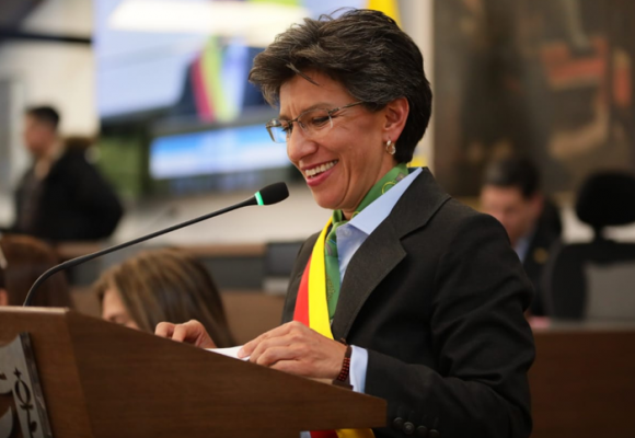 El falso éxito de Claudia López