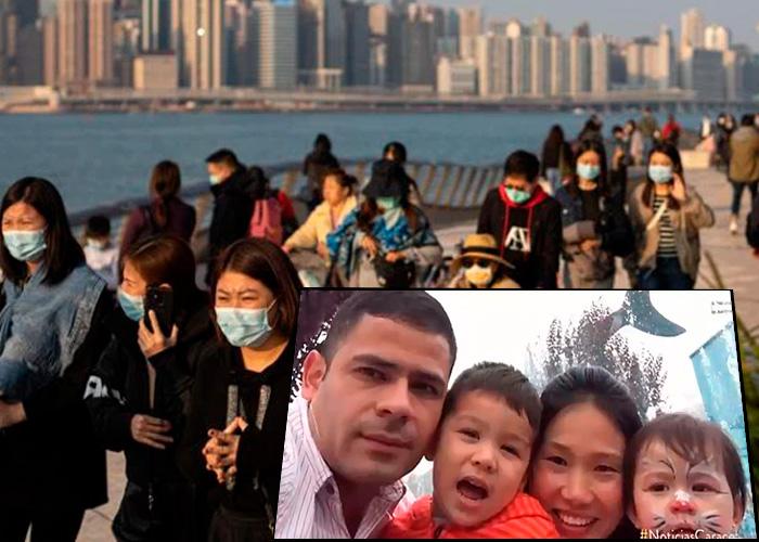 Ser colombiano y estar atrapado en Wuhan