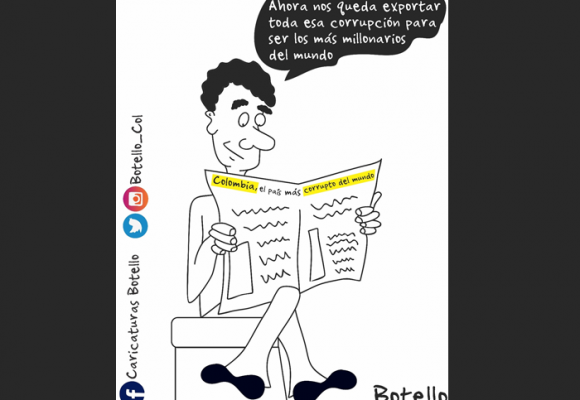 Caricatura: Vergüenza mundial