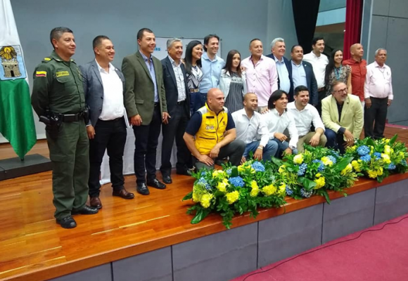 En Medellín, los ediles se posesionaron en donde fueron elegidos