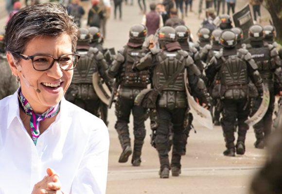 Claudia López toma las riendas del Esmad