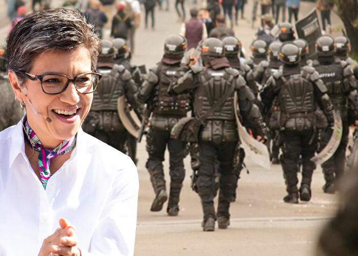 ¿Claudia López peló el cobre con la protesta social?