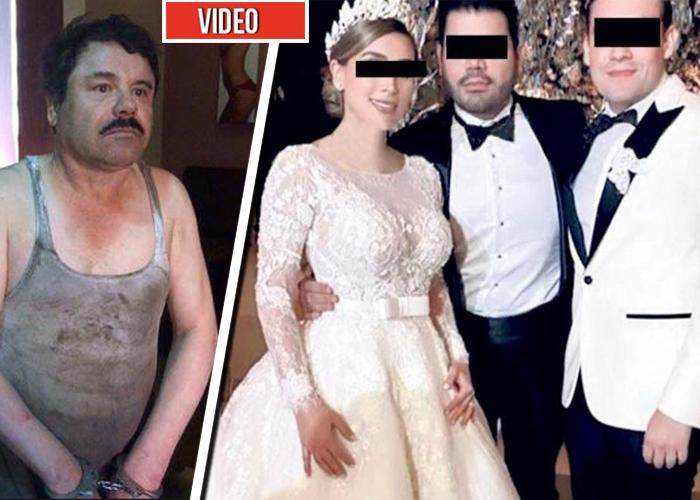 La narco-rumba con la que se casó la hija del Chapo Guzmán