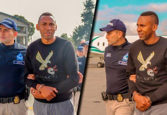 Fotos: La extraditación de John Viáfara
