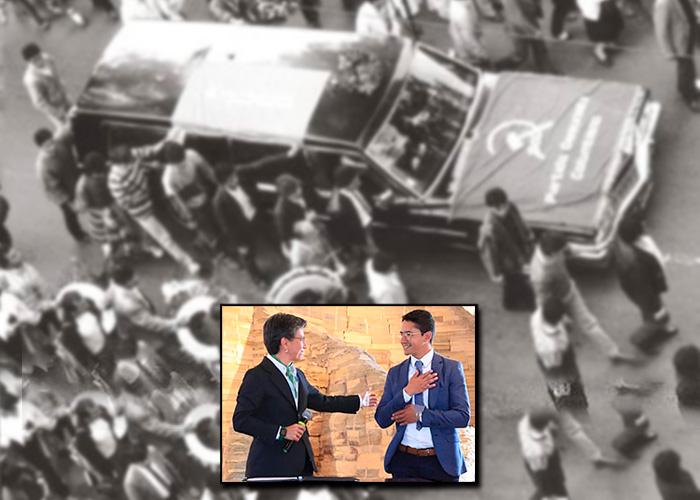 José Antequera, el homenaje de la alcaldesa a las víctimas en Bogotá