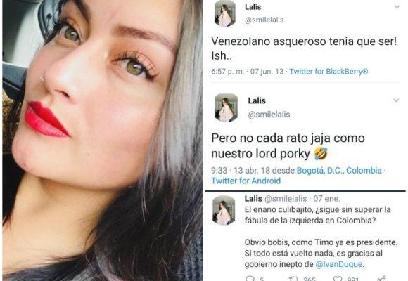 Lalis, la matoneadora petrista que no aguanta el mismo bullying que ella hace