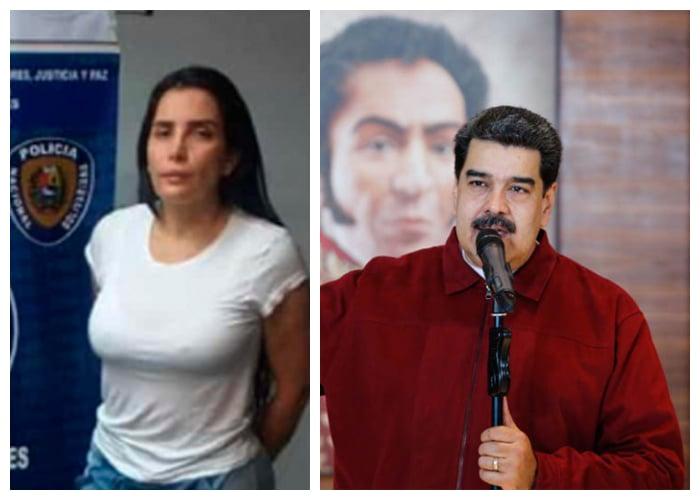¿Aída Merlano se entregó a Maduro?