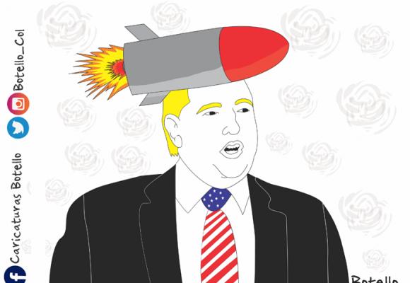 Caricatura: El hombre misil