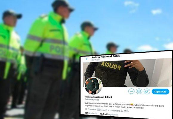 La página porno gay de los policías colombianos