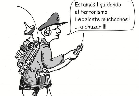 Caricatura: El manoseado discurso de la seguridad