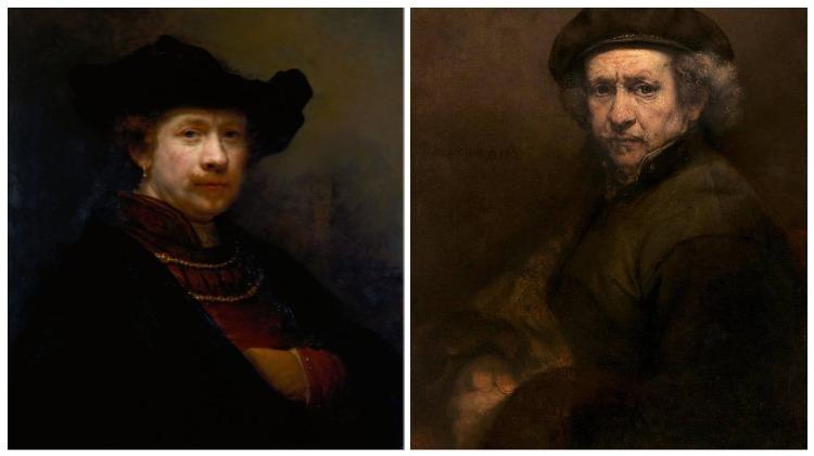 La vida de un realista como Rembrandt
