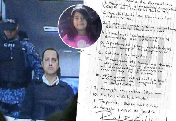 12 exigencias de Rafael Uribe Noguera al juez que lo condenó