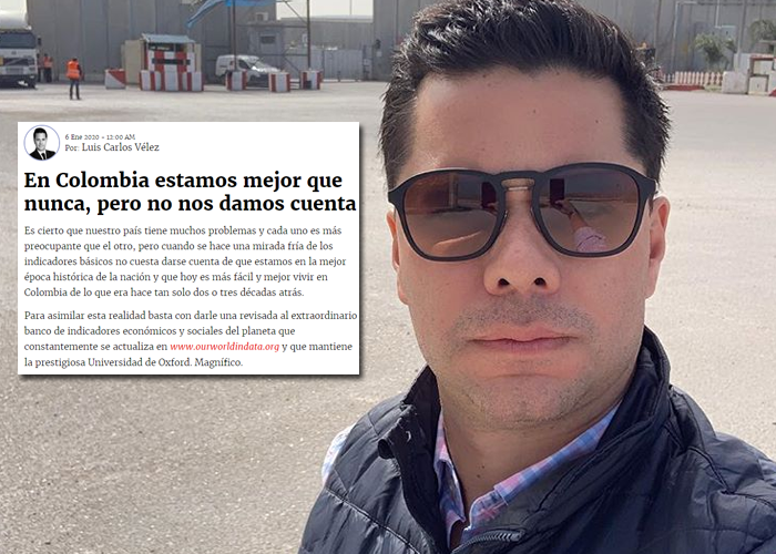 La frialdad de Luis Carlos Vélez