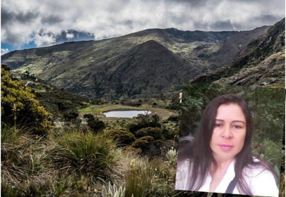 La guerrera protectora del Cerro Páramo Miraflores
