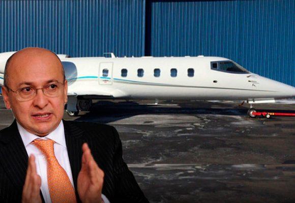El Learjet que Eduardo Montealegre le dejó a la Fiscalía