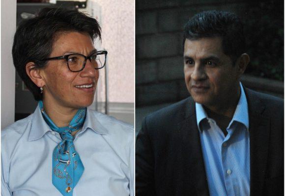 Claudia López y Jorge I. Ospina, los dos alcaldes pican en punta en aprobación