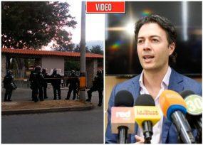 El Esmad entra a la U. de Antioquia: orden de Quintero