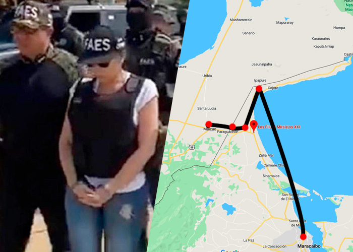 La ruta de Aida Merlano para llegar a Venezuela