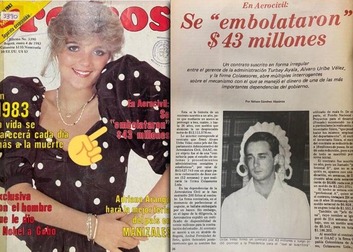 Cuando a Álvaro Uribe se le embolataron $43 millones