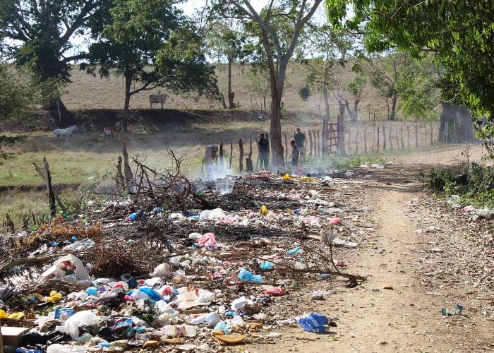 Los municipios de Sucre que se ahogan en basura