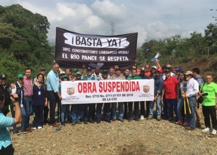 Jaramillo Mora responde a rumores sobre contaminación del río Pance