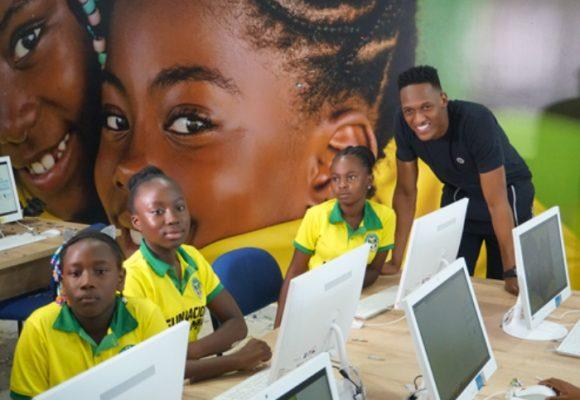 El golazo de Yerry Mina con la educación en Guachené