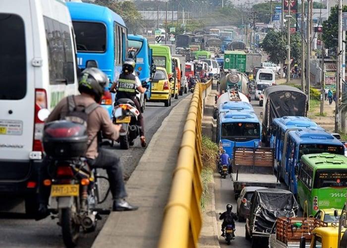 Colombia, un país de guaches al volante