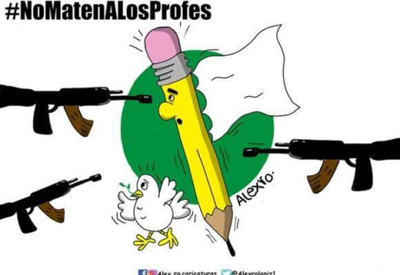 Caricatura: #NoMatenALosProfes