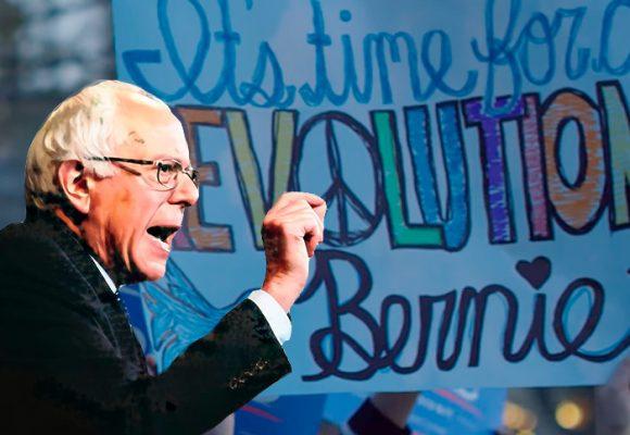 Impactante propaganda con la que Sanders quiere ser candidato demócrata