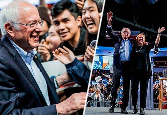 Bernie Sanders toma ventaja en las primarias demócratas