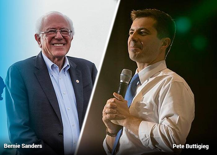 Mano a mano en el partido Demócrata por la carrera a la Casa Blanca