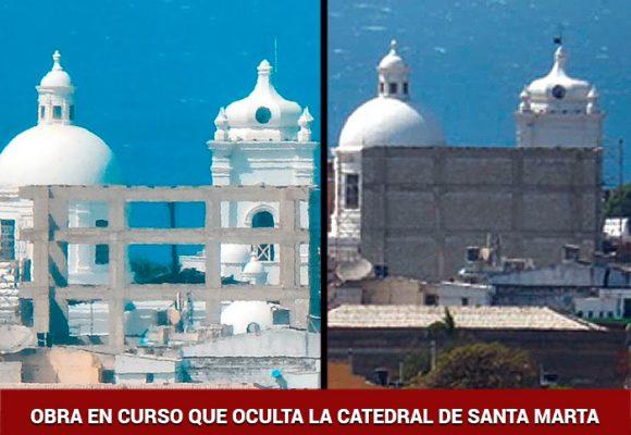 Santa Marta también tiene su Acuarela: esta obra tapará la catedral