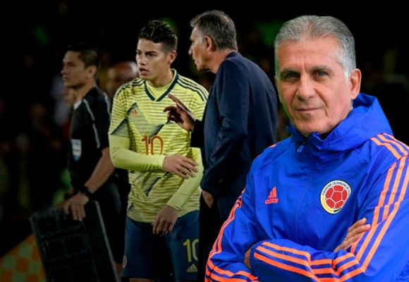 La grosería de James con Queiroz explica por qué Zidane lo desprecia