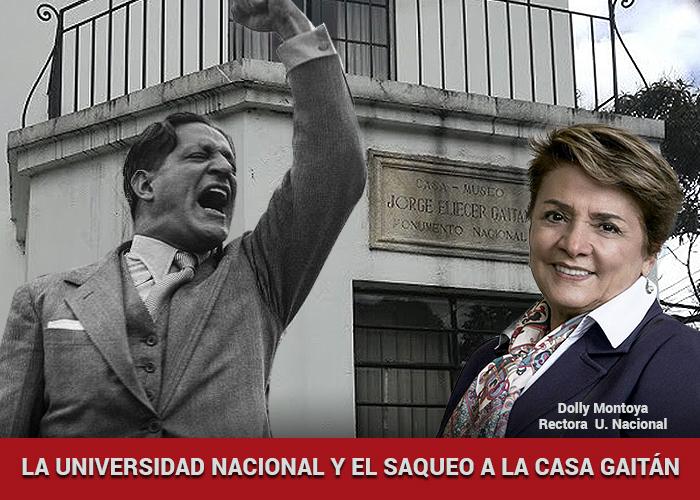 La Universidad Nacional y el saqueo a la casa de Jorge Eliecer Gaitán
