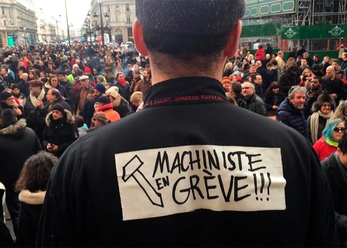 Ópera y cloacas: los grandes sacrificados de la reforma pensional de Macron en Francia