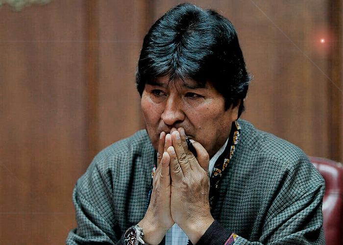 Evo Morales en la sin salida