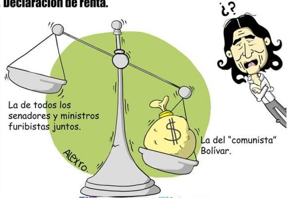 Caricatura: Declaración de renta...
