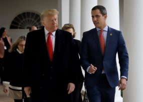VIDEO: Honores de Trump para Guaidó en la Casa Blanca