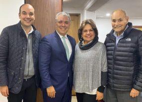 La sorpresiva visita del presidente a Horacio Serpa en su recuperación