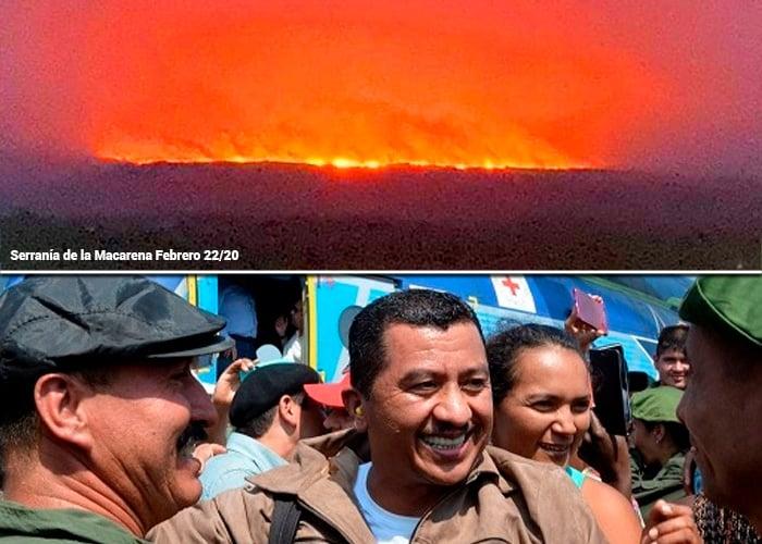 Gentil Duarte, ¿detrás de la quema de la Macarena?