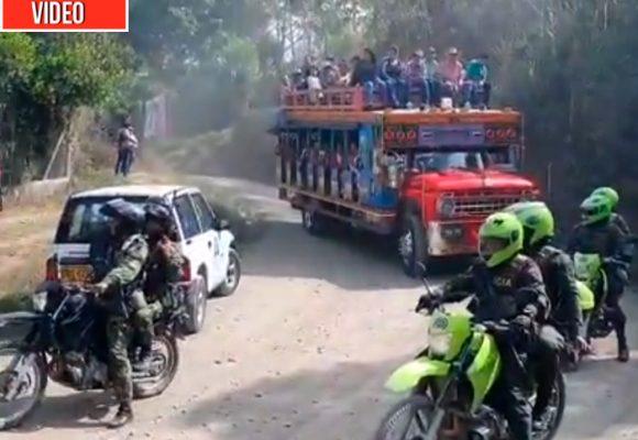 Con miedo, los 800 desplazados de Ituango regresan a sus veredas