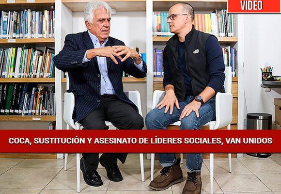 """""""Durante la negociación de paz con las Farc, la siembra de coca se disparó"""