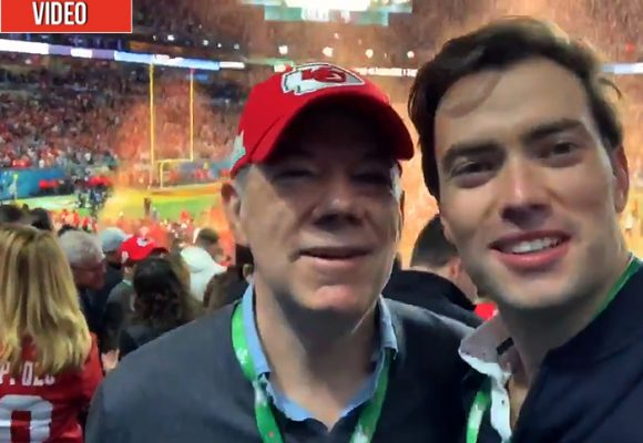 Santos le hizo viaje al Super Bowl en Miami