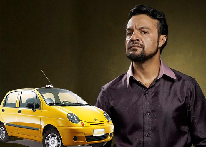 A Julian Roman casi lo mata un taxista en Bogotá