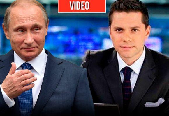 El canal de Vladimir Putin se burla de Luis Carlos Vélez